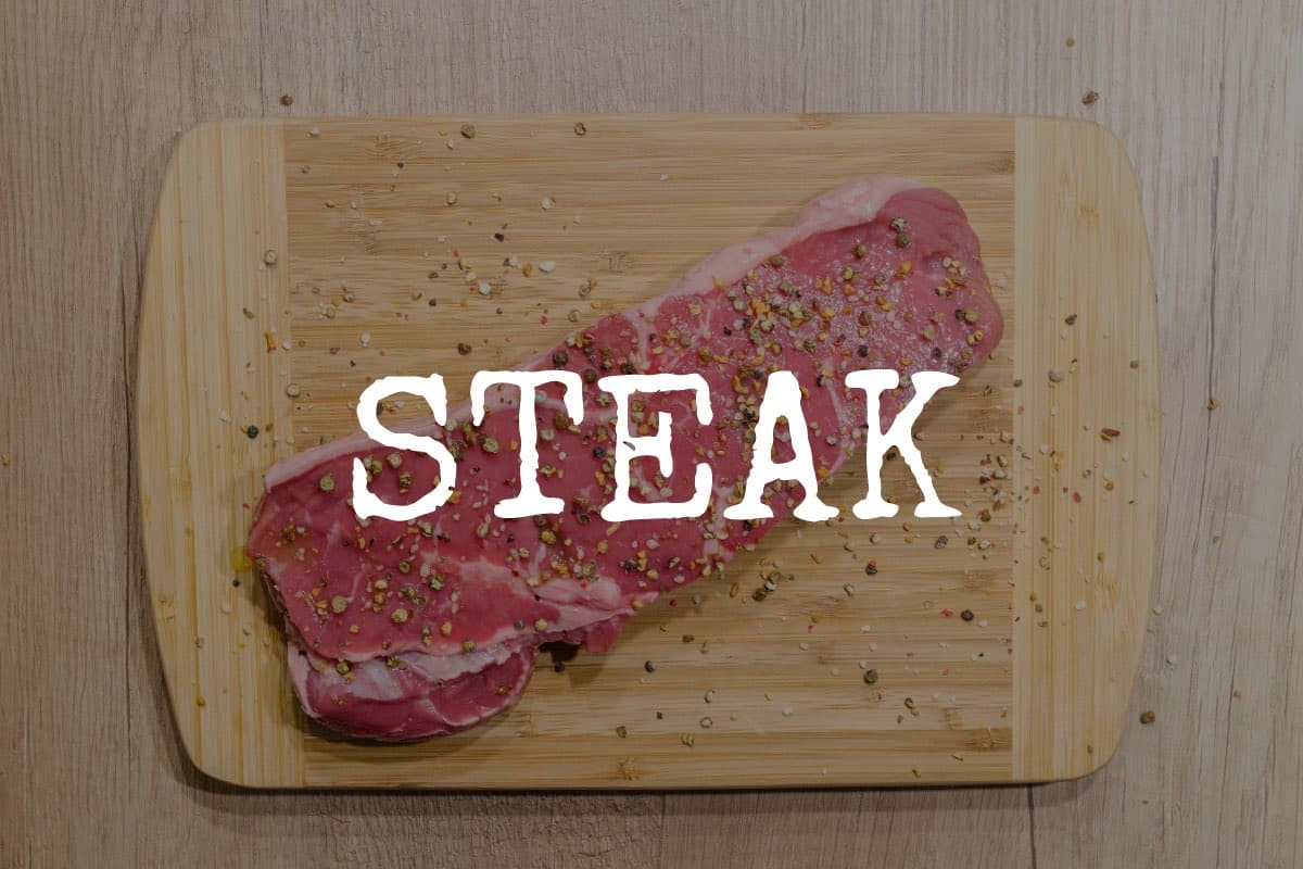ask the butcher - steak preparation and serving