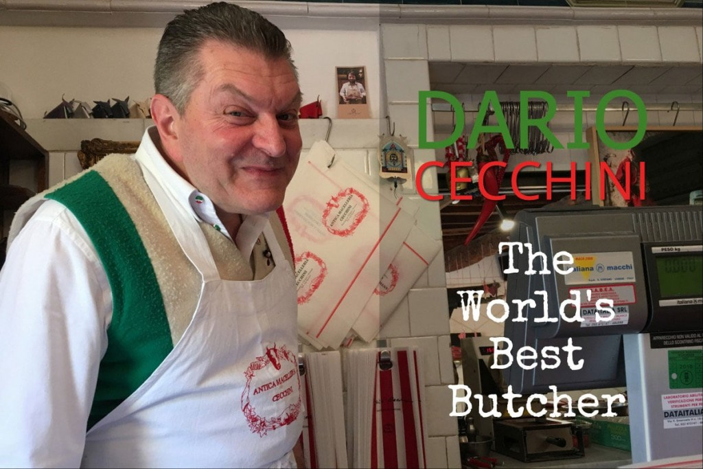 Dario Cecchini The best butcher in the world