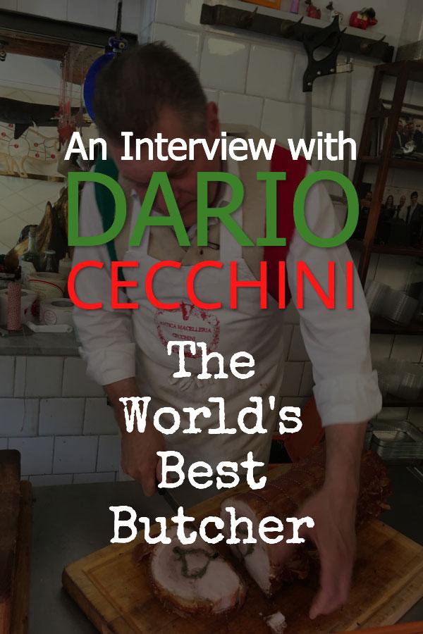 Dario Cecchini - The World's Best Butcher Interview