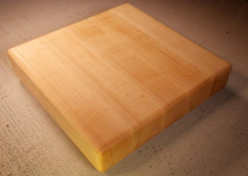 Todd Alan Woodcraft maple chopping board