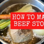 how to make beef stock recipe